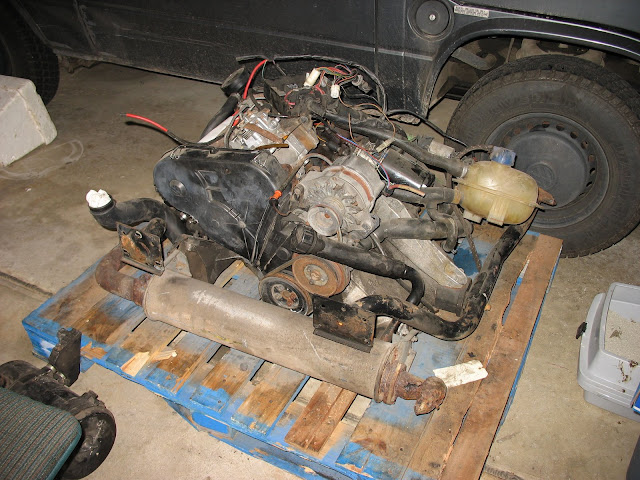 Speaking, would Vw diesel to type 1 tranny are