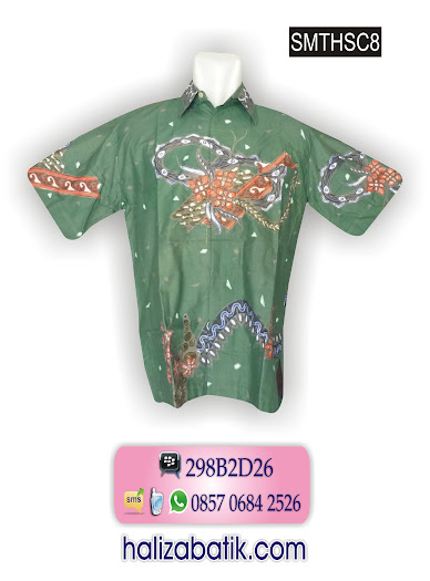 SMTHSC8 Baju Batik Terbaru, Model Batik, Grosir Batik, SMTHSC8
