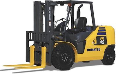 Xe nâng Komatsu 4 tấn FH40-2