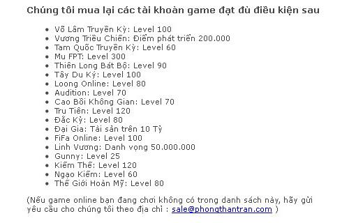 Người chơi Việt mất tín nhiệm đối với các nhà phát hành 6