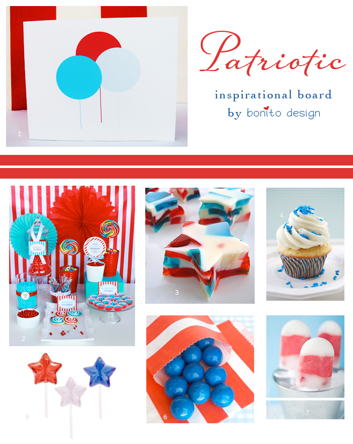 Patriotic Inspirational Board