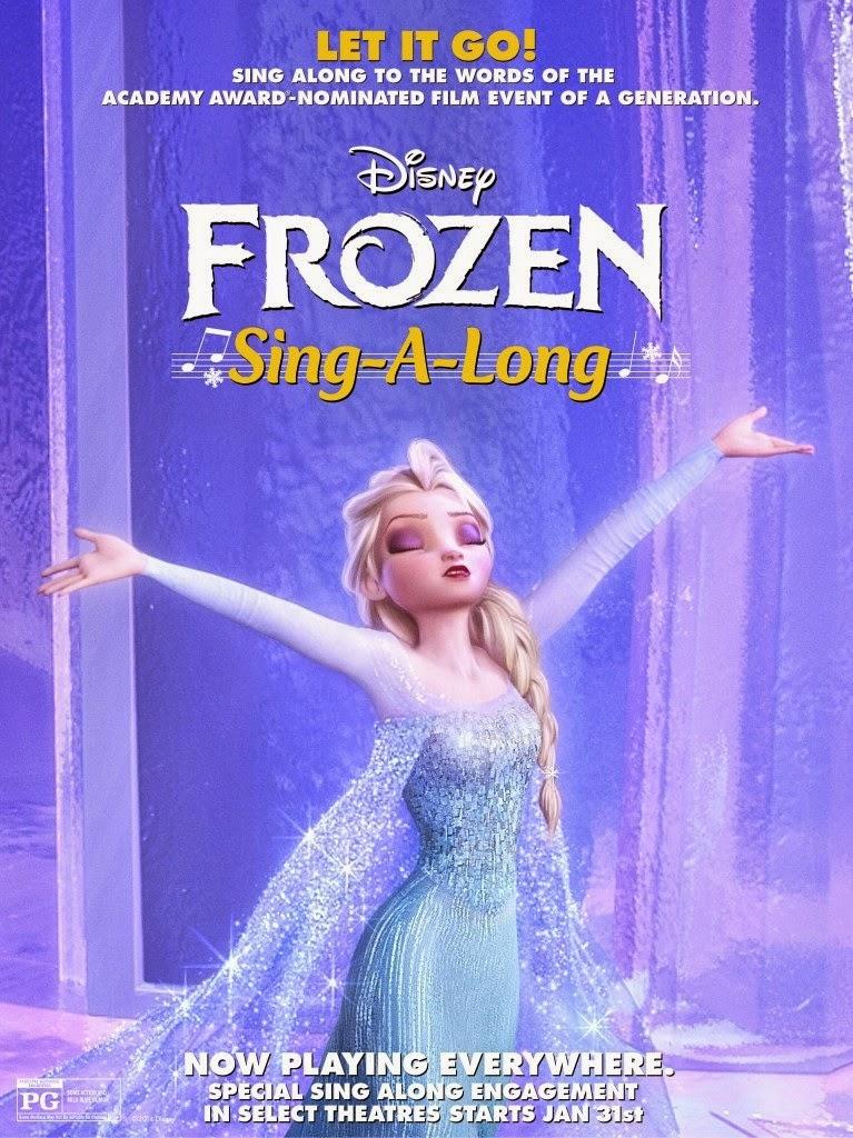 Ψυχρά κι Ανάποδα Τραγουδιστά (Frozen Sing Along) Poster