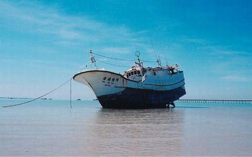 High Aim 6 rời cảng Liuchiu ở miền Nam Đài Loan vào ngày 31/10/2002
