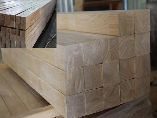 gỗ cao su ghép khối vuông