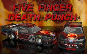 Five Finger Death Punch Wicked Ford Mustang Wallpaper