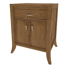 Strafford Nightstand with Doors