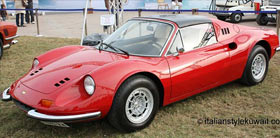 Kuwait: Concours D'Elegance - Lamborghini, Ferrari, Maserati, Isotta Fraschini, De Tomaso, Alfa Romeo, Iso Rivolta, Bizzarrini