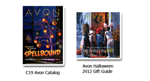 View Avon Catalog & Flyers for Halloween 2012
