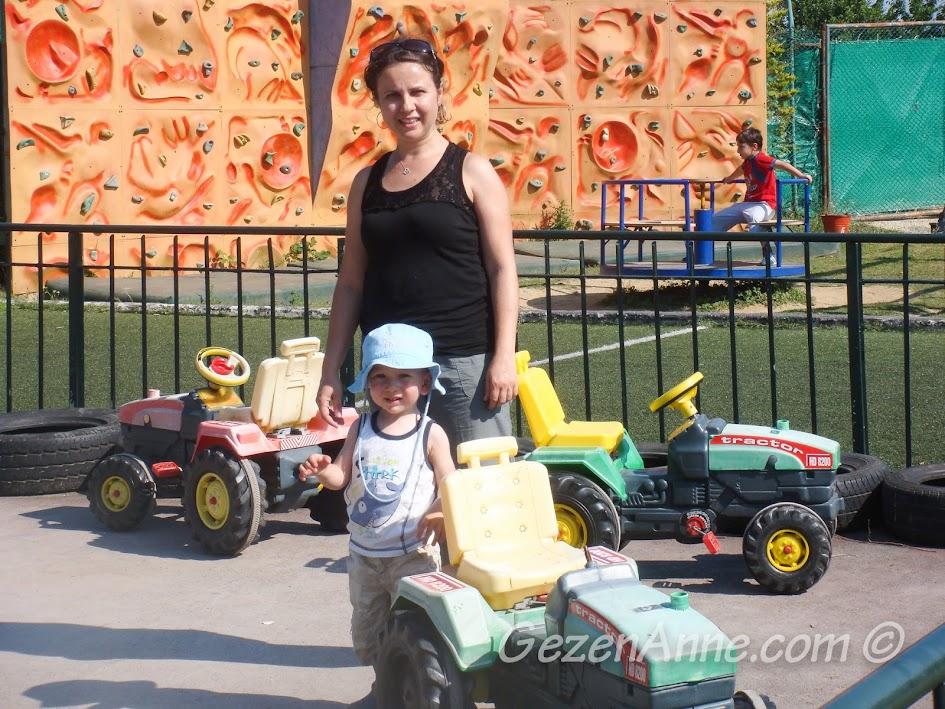 Polonezköy Piknik Park'taki eğlence alanı