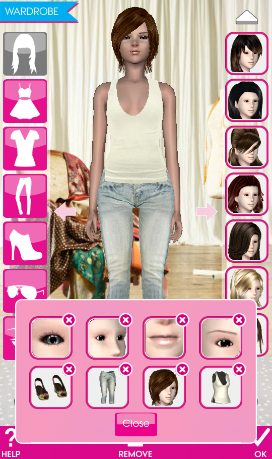 Teen vogue me girl level 19 spring break chloe wardrobe