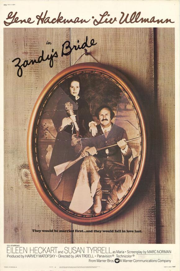Every 70s Movie: Zandy's Bride (1974)