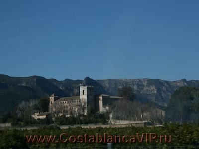 monasterio San Jerónimo de Cotalba, San Jerónimo de Cotalba, монастырь в Испании, недвижимость в Испании, CostablancaVIP, VIP туризм, туризм, история Испании, замки Испании, памятники Испании