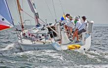 J/109 LOKI winning class- sailing fast in Vineyard Race