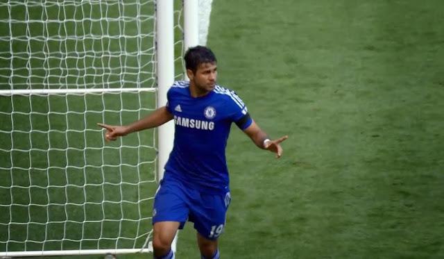 Costa, Chelsea - Swansea