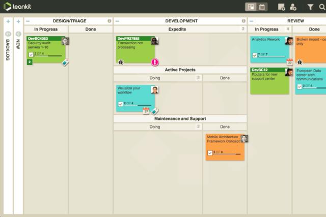 leankit project management software alternatives