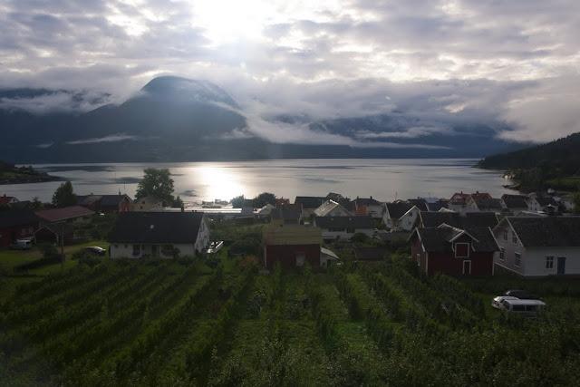 Lustrafjorden, Solvorn, Noruega