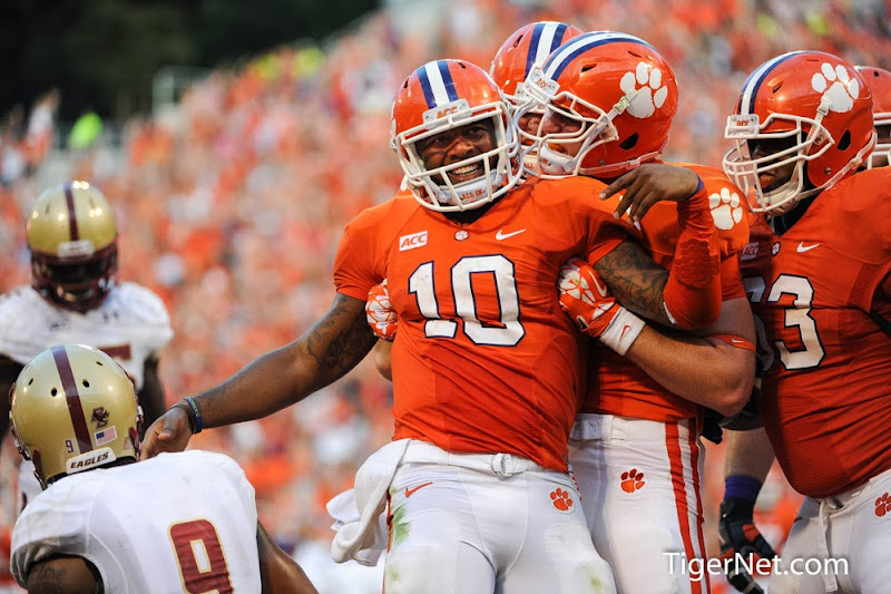 Boston College vs Clemson Photos - 2013, Boston College, Football, Tajh Boyd