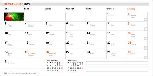 [Alapértelmezett naptár :: naptárletöltés.hu]