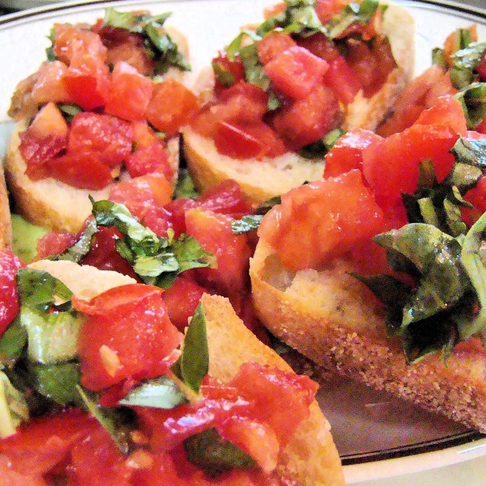 Savoir faire crujientes bruschettas con tomate y albahaca - Cuando plantar tomates ...
