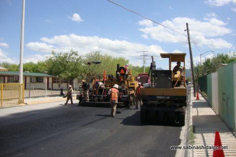 Pavimentación en calle Netzahualcóyotl