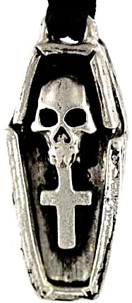 Magic Voodoo Coffin Amulet Image