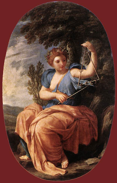 Eustache Le Sueur - The Muse Terpsichore