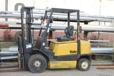 Xe nâng cũ Yale 2.5t