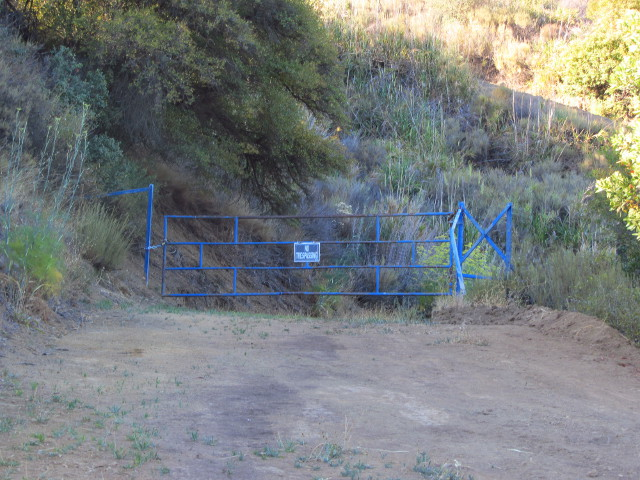 gate to block all comers