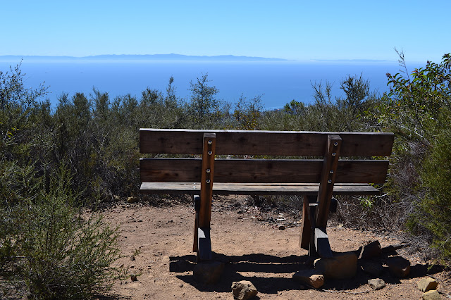 the new bench and the islands
