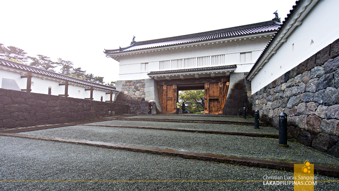 One of the Gates at Kanagawa's Odawara Castle