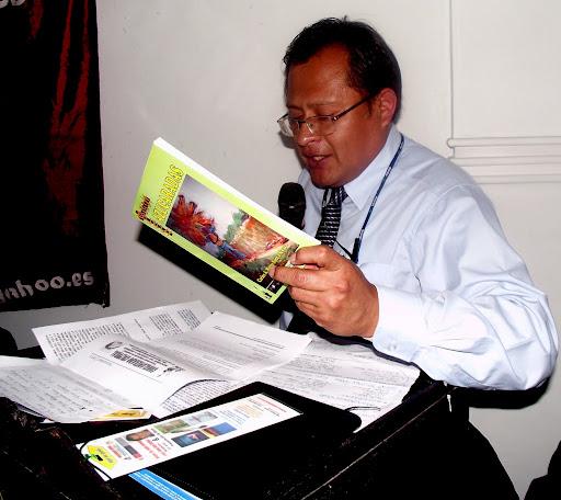 """Rogelio Vilcherrez Chozo: Presentación del Libro """"Azucaradas"""""""