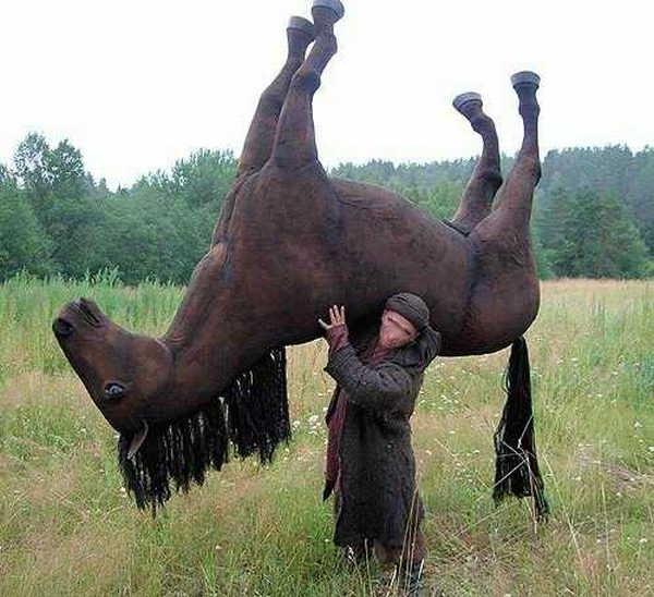 1- Origem da expressão tirar o cavalo da chuva