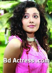 Bangladeshi Actress and Model Urmi