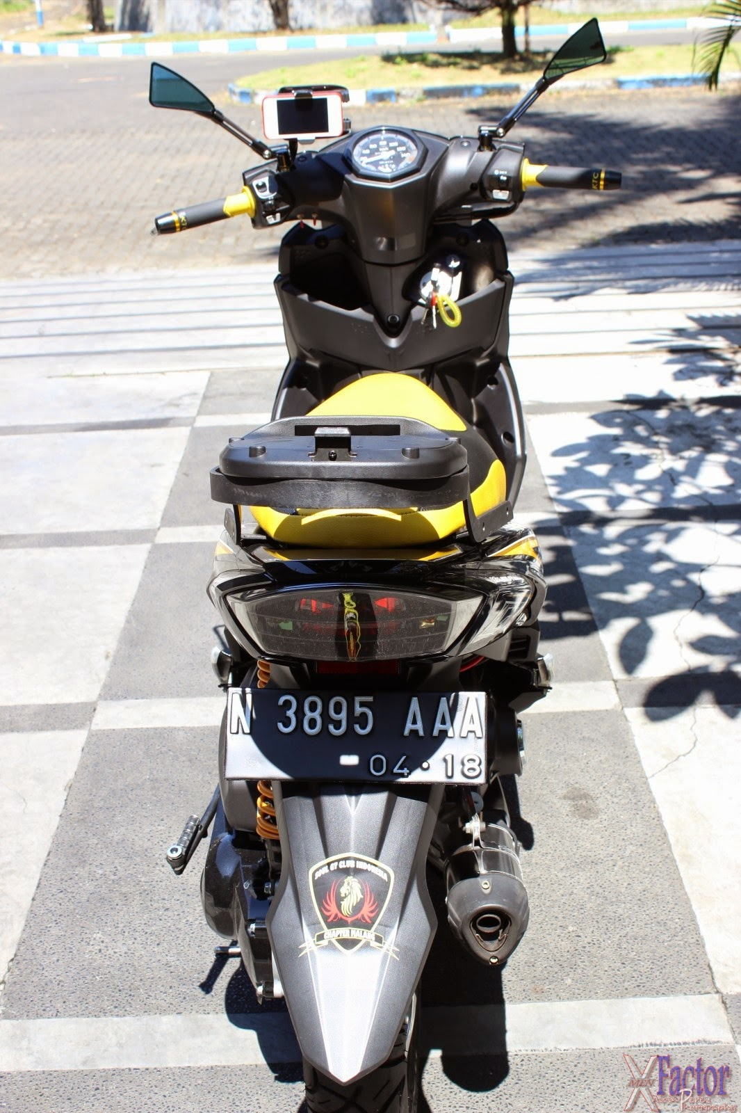 Top modifikasi mio m3 touring