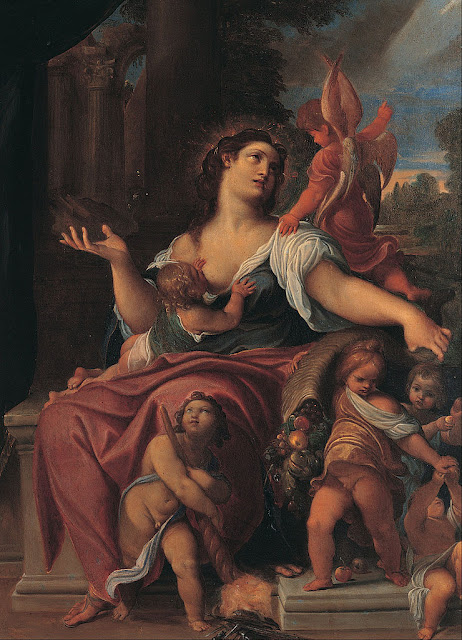 Ludovico Carracci - Allegory of Providence