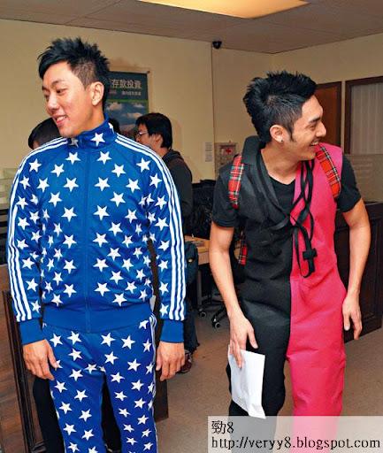 噸位十足的師兄劉浩龍,暴飲暴食搞到心臟出事,減肥計劃無奈中斷,要 keep住肥。