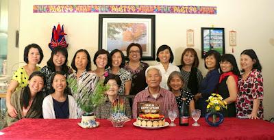 KM San Jose mừng sinh nhật thầy Loạt