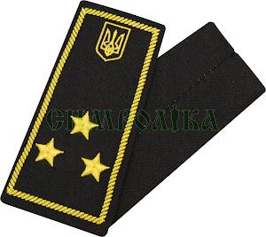Погони / митна служба/  інспектор 2 рангу/ чорні
