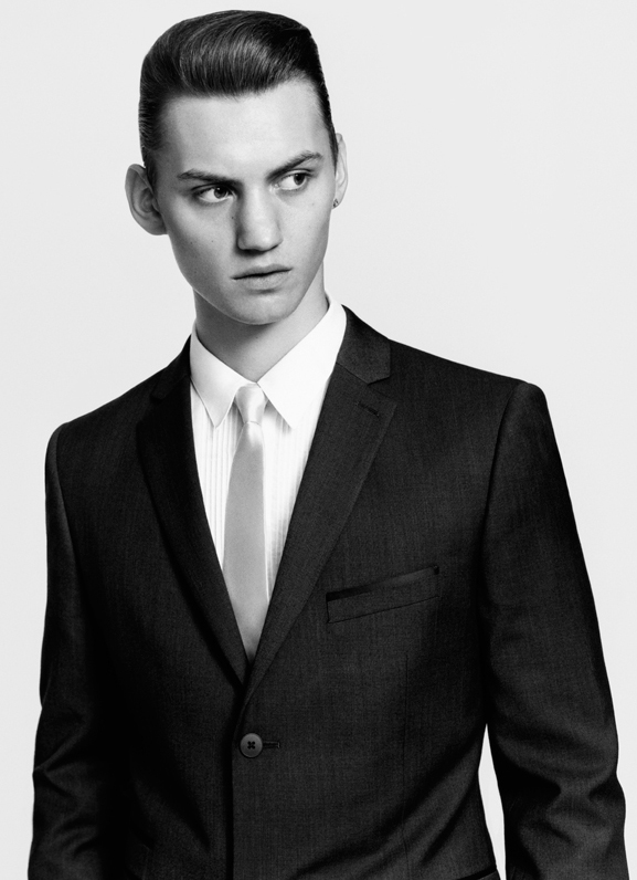 Josh McLellan by Alastair McLellan for Topman S/S 2012. Styled by Alister Mackie