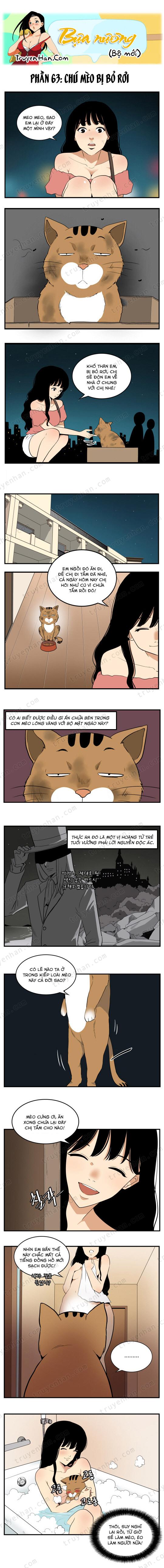 Bựa nương (bộ mới) phần 63: Chú mèo bị bỏ rơi