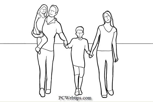 21 Ejemplos Poses para tomar fotos Con Amigos y Familia  PCWebtips