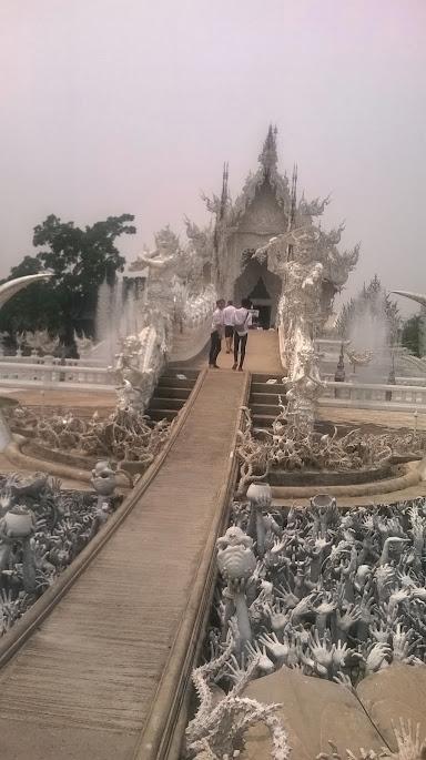 Der Weiße Tempel, Chiang Rai