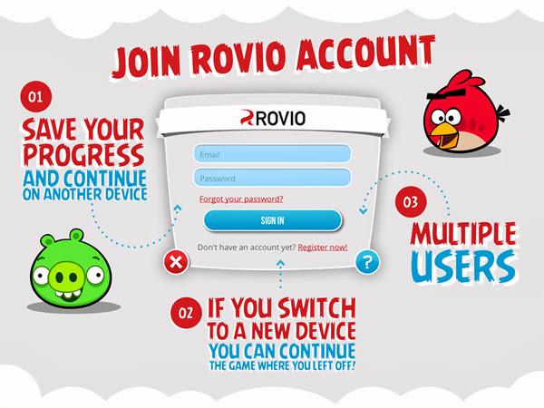Rovio Account được phát hành trên toàn cầu 2