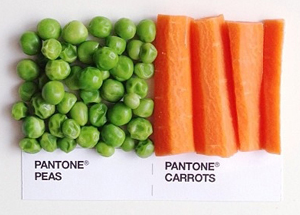 pantone peas and carrots