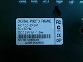 7 inch digital photo frame flower decorated