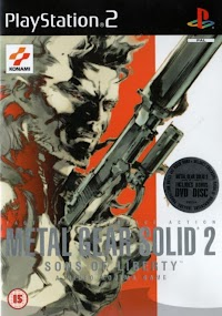 Jaquette du jeu Metal Gear Solid 2 : Sons of Liberty