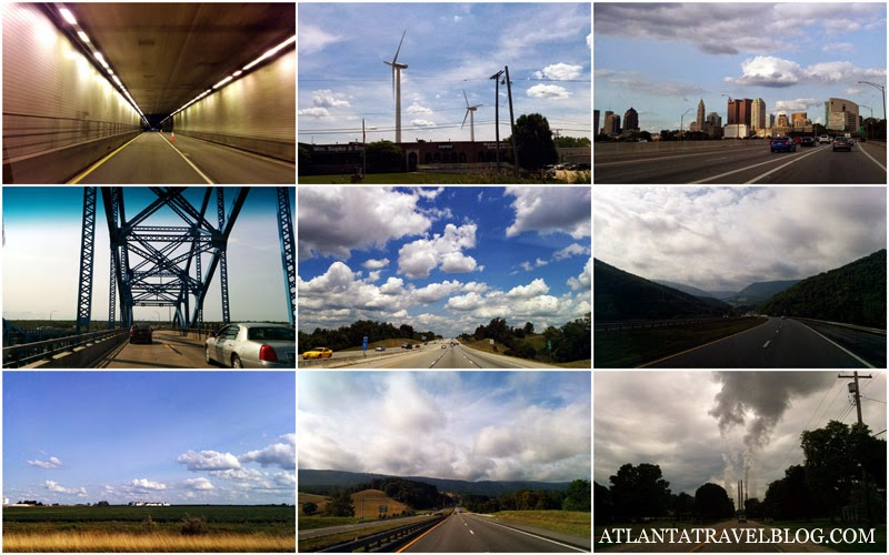 Atlanta Niagara road trip pictures