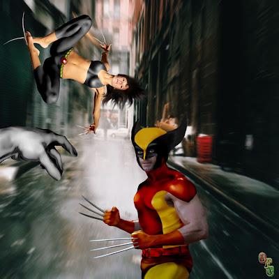 X-23 e Wolverine