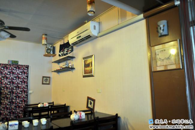 三好狸日式定食店內用餐空間