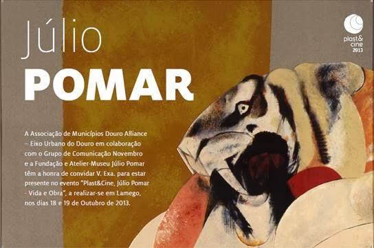 "Evento ""Plast&Cine, Júlio Pomar - Vida e Obra"""